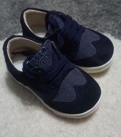 """Велурени обувки на италианската марка """"ASSO"""", номер 21, стелка 13,5 см"""
