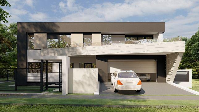 Casa moderna cu piscina mosnita zona valey lidl