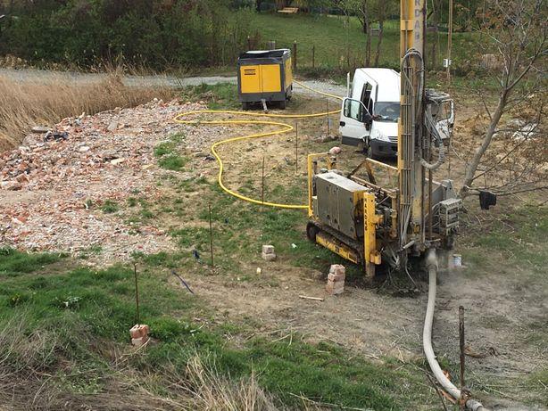 Foraje puțuri apă & energie profesional executate