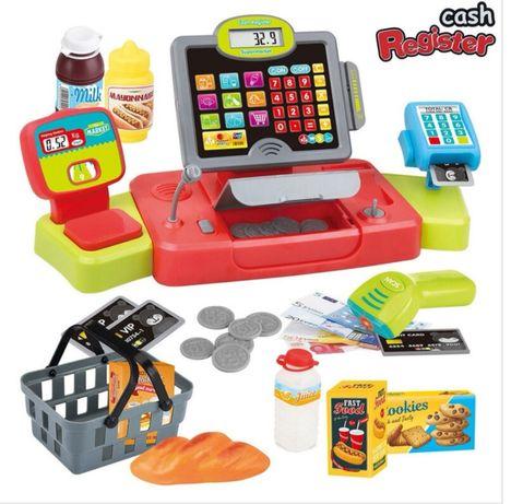 детски касов апарат Детски играчки каса касови апарати