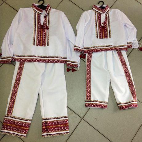 VAND costum popular COPII national ie camasa ROMANESC tricolor camasa