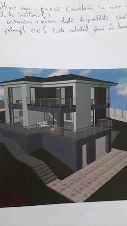Teren chinteni cu proiect casa