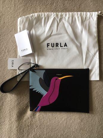 Кожена чанта/плик Furla