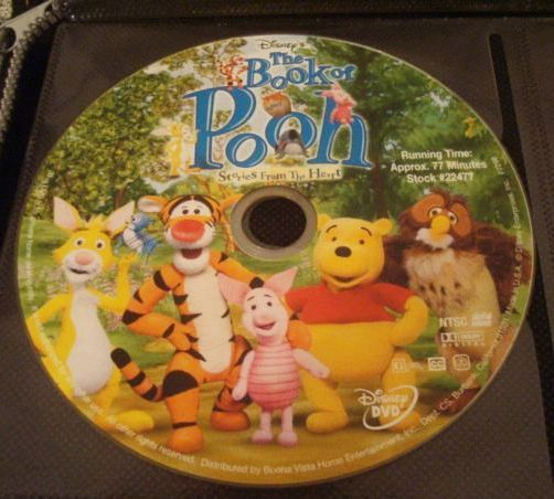 The Book of Pooh Stories from the Heart Winnie the Pooh Interactiv