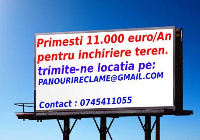 Panouri reclame.