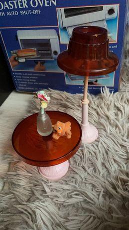 Стол и лампа для барби