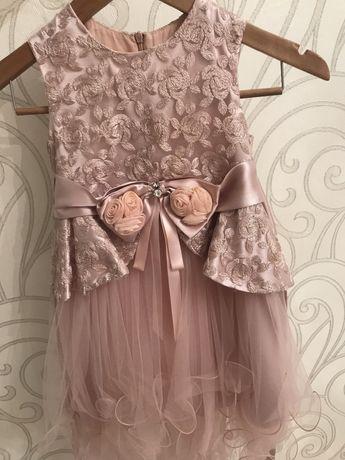 Детское платье 5-6лет