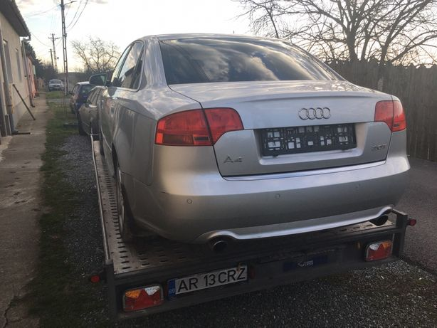 Capota spate S Line Audi A4 B7 sedan