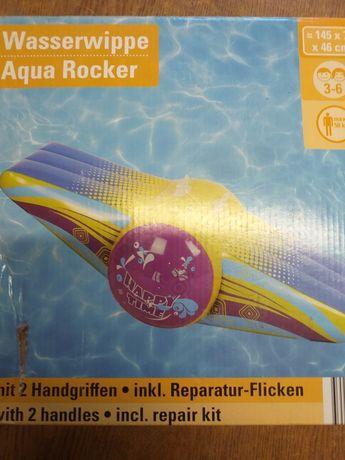 Balansoar gonflabil cu mânere, nou, saltea de apă pentru 2 copii