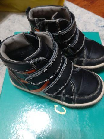 Осенний ботинка детский