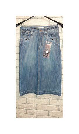 Новая джинсовая юбка! Размер 25