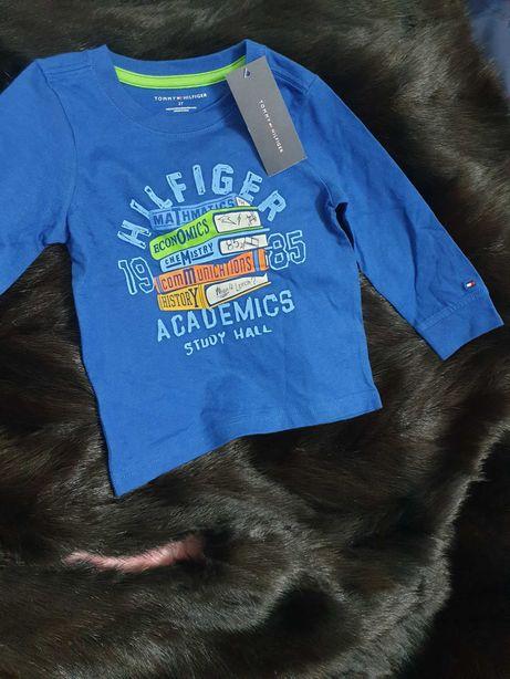 Bluza marca Tommy Hilfiger original, sigla Tommy brodata,  superba