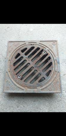 Grătar fontă pentru tub DN 315 - D 400 mm