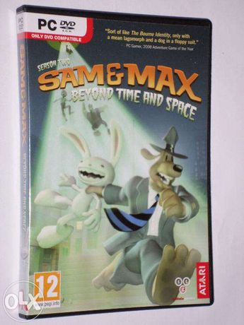 Sam & Max: Season 2 - Beyond Time and Space PC DVD