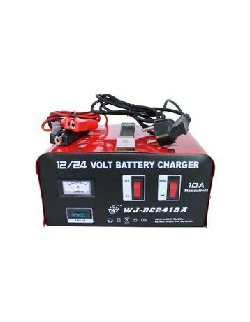 Зарядно за акумулатор 10А метално