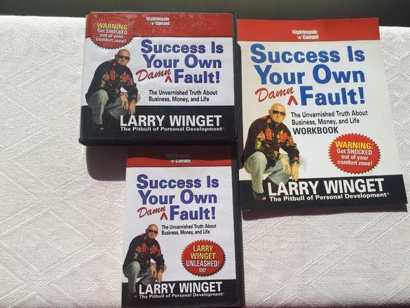 Success is Your Own Damn Fault - Larry Winget - 6 CDs, DVD & Workbook