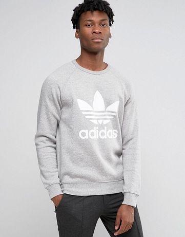 НОВ Adidas Originals Trefoil Crew Sweatshirt мъжки суичър/блуза/р.S