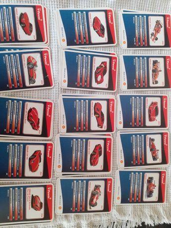 Колекционерски карти на ферарита от Шел