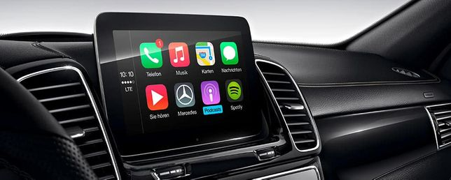 Carplay Waze CarPlay Mercedes-Benz A B CLA CLS GLA GLE Coupe GLS