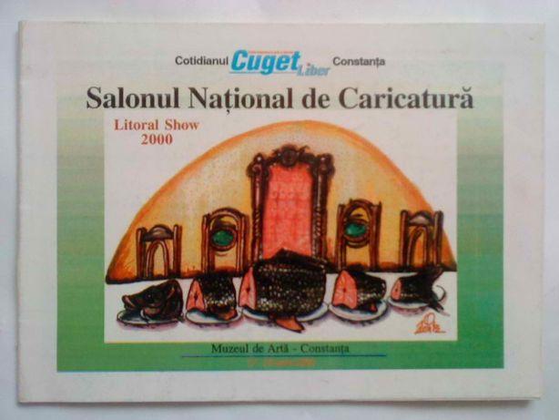 Carte de caricatura romaneasca, Salonul de caricatura, Constanta 2000