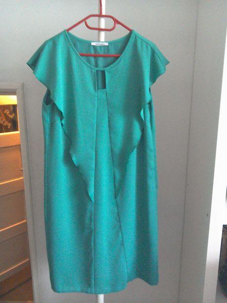 Rochie elegantă, verde smarald tip creion