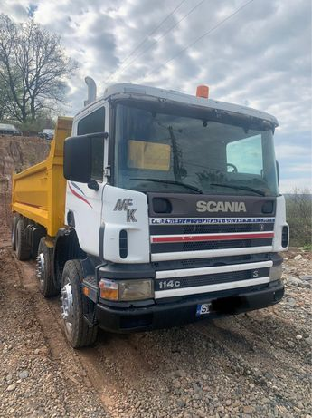Vand bascula 8x4 Scania 2001