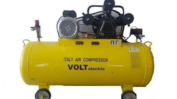 компресор за въздух Volt Electric с три глави и обем на съда 100 литра