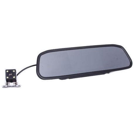 Sistem camera marsarier cu 4 LED si cu monitor oglinda