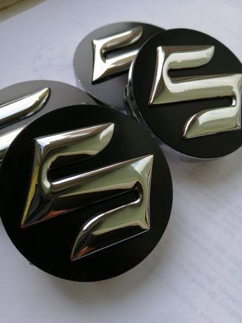 Suzuki - set 4 capace pentru jante aliaj