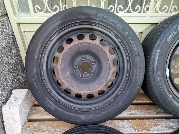 16 цола джанти с гуми за Фолксваген Голф Бора Поло Сеат Леон Октавия