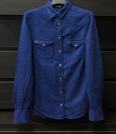 Джинсовая рубашка Massimo dutti