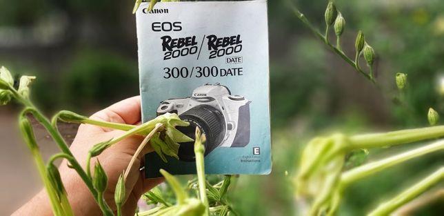 Aparat foto Canon Rebel Eos 2000+ blitz dedicat