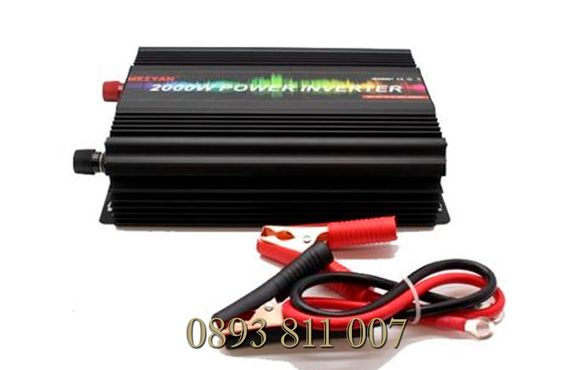 НЕМСКИ Инвертор 12V-220V,3000W, за автомобил и 24 волта за камион