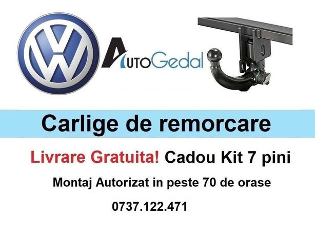 Carlige de remorcare omologate RAR VW Golf - 5 ani garantie