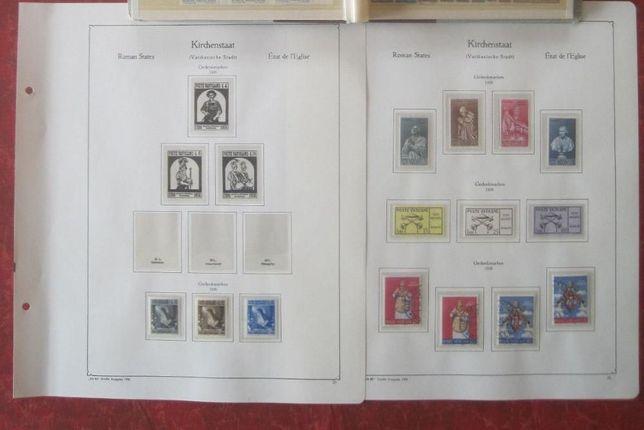 Vatican 1958 -1985 integral , timbre nestampilate + colite