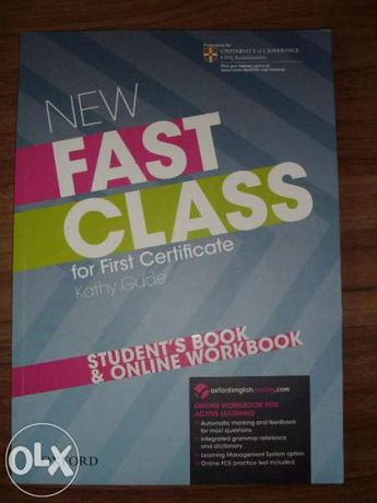 New Fast Class for First Certificate