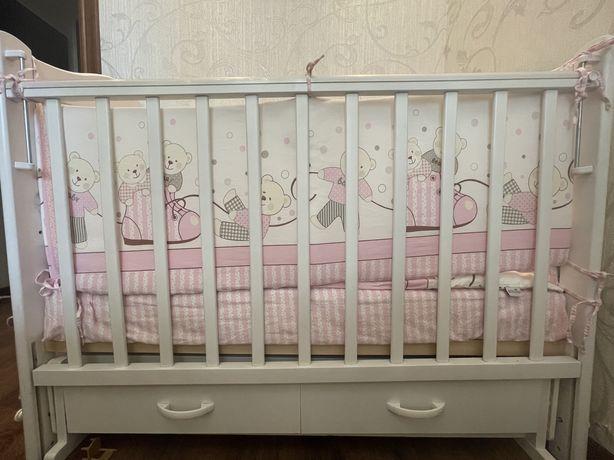 Продается детска кроватка ,производство Россия .