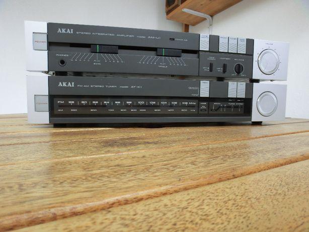 Amplificator vintage AKAI AM-U1 +tuner AKAI AT-K1.