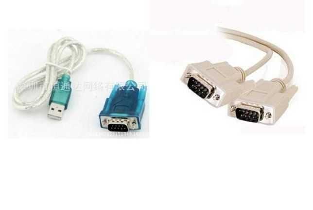 Кабель USB - RS232, USB - COM и RS232 - RS232, COM - COM