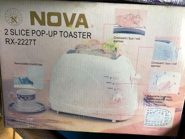 Тостер NOVA новый!