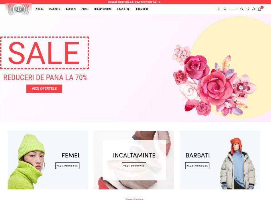 Vand afacere la cheie - outlet online - business la cheie stoc si site