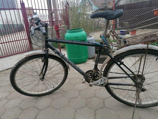 """Bicicleta Scorpion, cu roti de 26"""", cu cauciucuri NOI"""