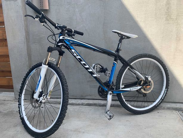 Bicicleta Scott Scale 80 ,frane pe ulei ,cauciucuri noi.