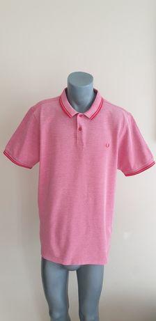 Fred Perry Pique Cotton Mens Size XL - 2XL ОРИГИНАЛ! Мъжка Тениска!