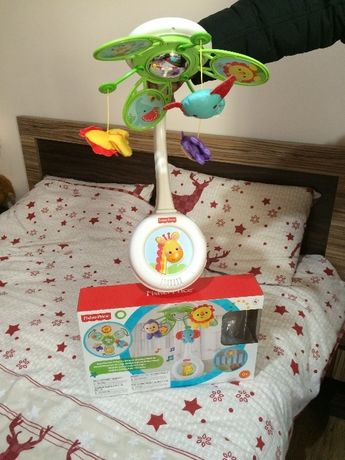 Fisher Price Музикална въртележка Rainforest Friends Deluxe