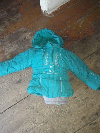 Зимний комбинезон куртка и штаны