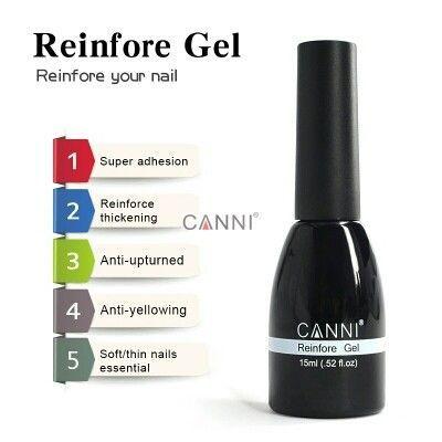 CANNI Reinfore gel 15мл - ново поколение течен Uv/Led гел