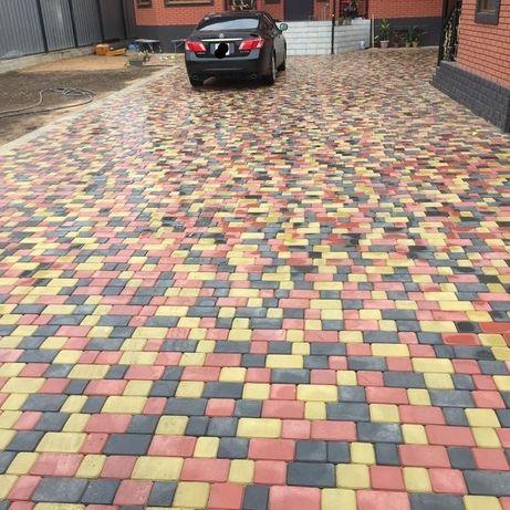 Брусчатка тротуарная плитка фасадные понели