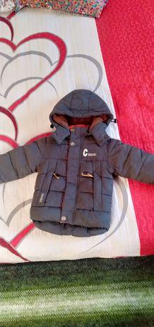 Куртка зимный мальчиковый  2-3годика