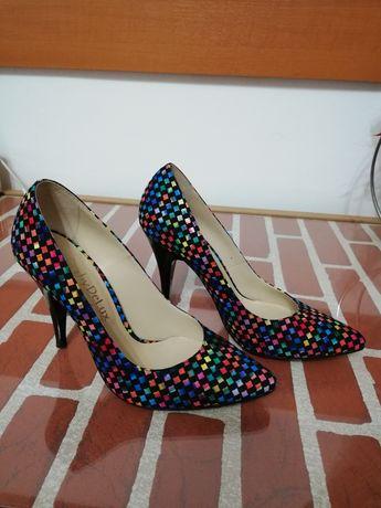 Pantofi Derby DeLux